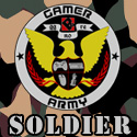 Gamer Army Soldier